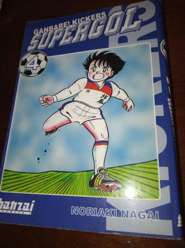 Supergol Manga