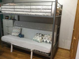 Litera Sofá cama