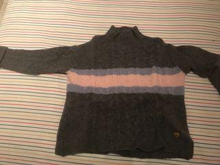 Jersey de lana trenzado