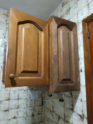 Armario cocina de madera.