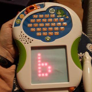Tableta interactiva escritura