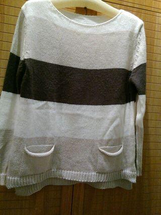 Jersey largo lana