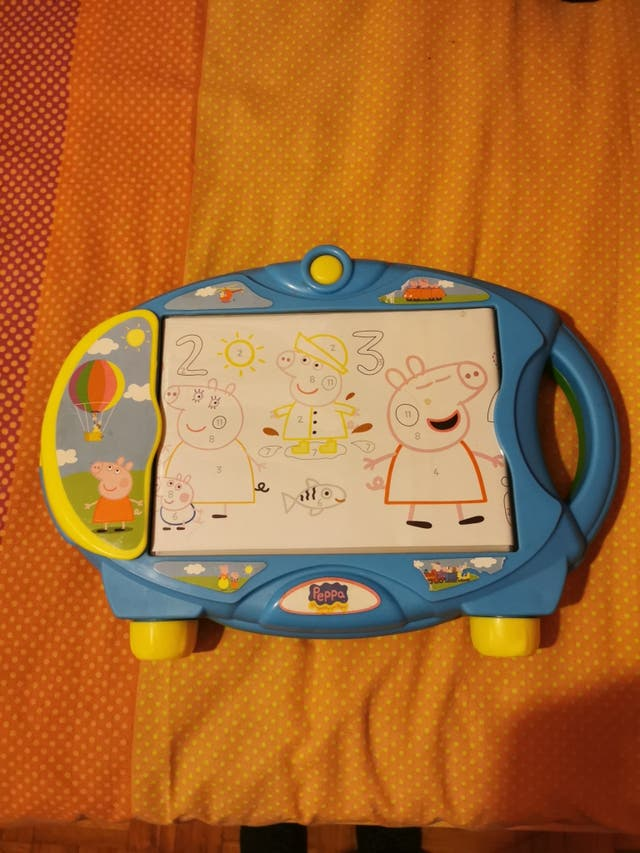 tablet con luz para dibujar a Peppa pig