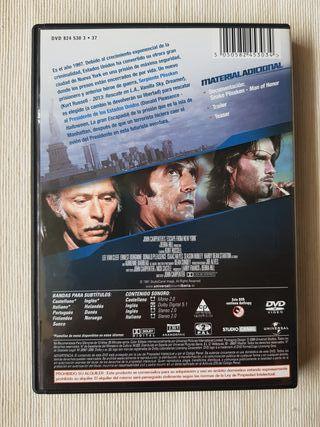 1997 Rescate en New York DVD