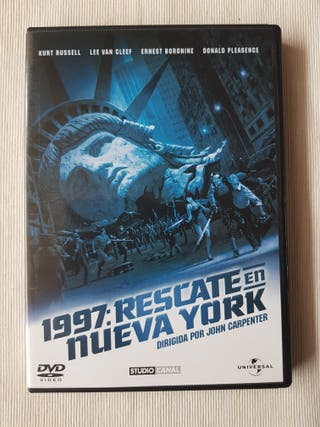 1997 Rescate en New York DVD