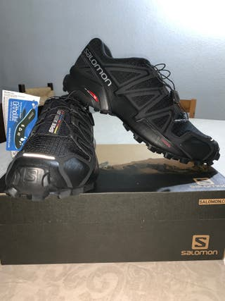 zapatillas Salomon trail running