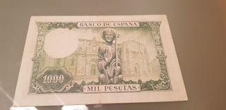 billete España 1000 pesetas 1965