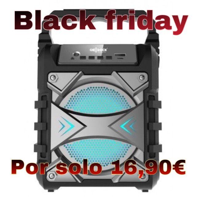 Altavoz portátil + micrófono