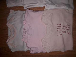 LOTE! 6 bodys niña manga larga 18 a 24 Meses bebe