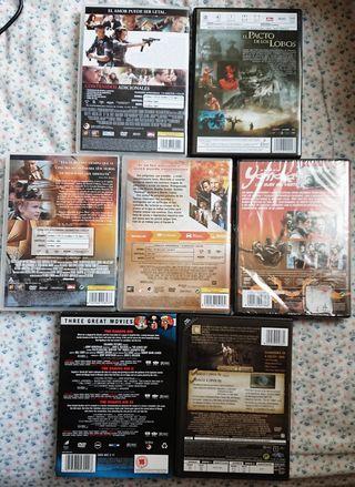 películas DVD varios blueray cine film vhs estreno