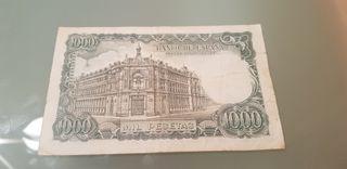billete españa 1000 pesetas 1971