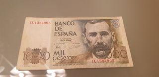 billete españa 1000 pesetas 1979
