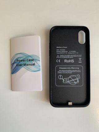 Carcasa con batería iPhone X/XS