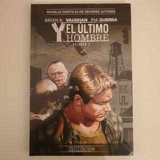 NOVELA GRAFICA Y, EL ÚLTIMO HOMBRE