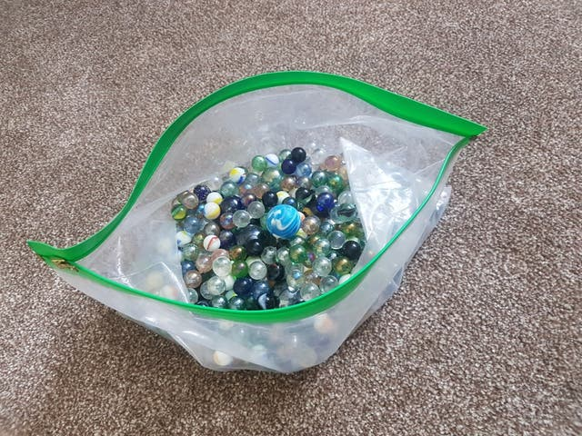 Assorted Glass Marbles Retro Classic Game