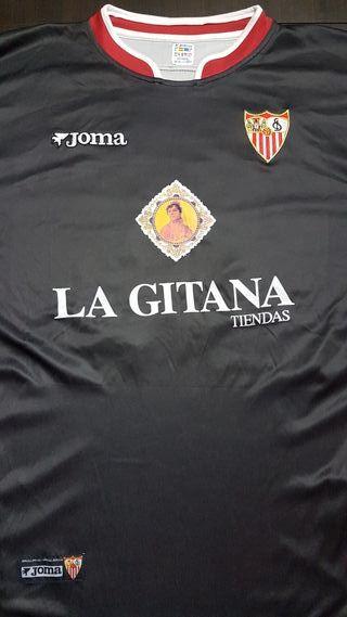 Sevilla fc, camiseta portero de Esteban.