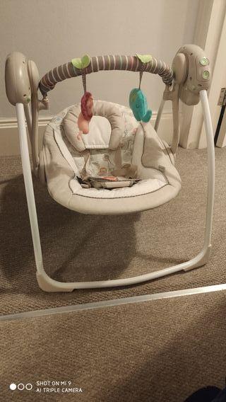 Ingenuity Portable Swing - Cozy Kingdom