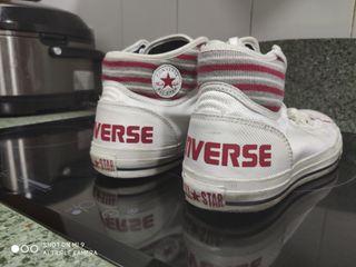 Botines Converse blancos