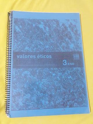 libro de valores eticos de 3 de eso