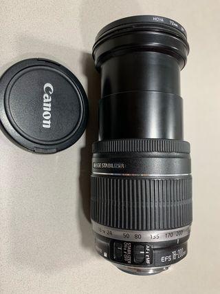 Objetivo Canon EFS 18-200