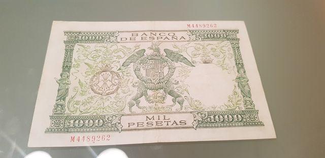 billete españa 1000 pesetas 1957 reyes católicos