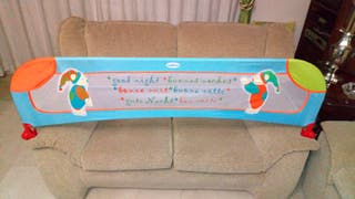 Barra barandilla de seguridad para cama de niños