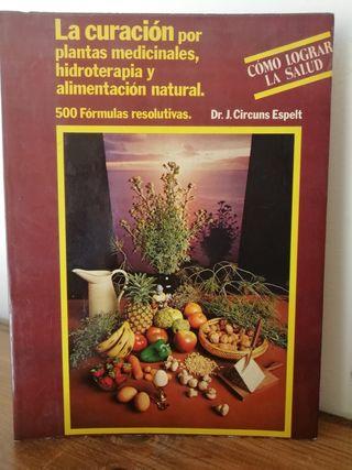 La curación por plantas medicinales, hidroterapia