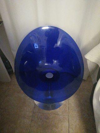 silla giratoria azul electrico(VENTA YA)