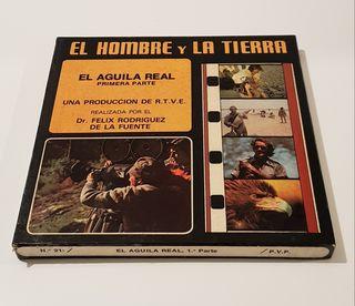 Cinta súper 8 EL HOMBRE Y LA TIERRA