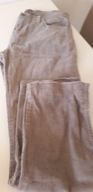 pantalón de pana T .42