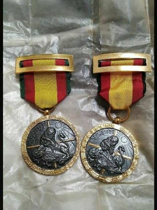 Medallas de la Guerra Civil