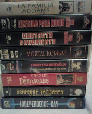 14 películas VHS