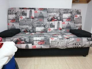 sofá nuevo,, clik clak, de liblo se Ace cama.