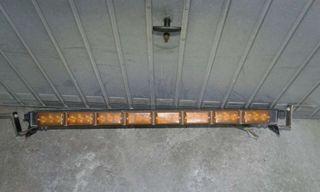 Barra techo luz posion LED todoterreno grua