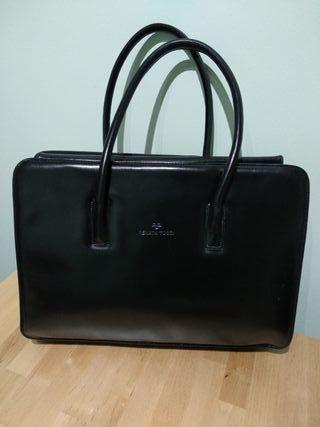 Bolso maletín precioso!! Piel