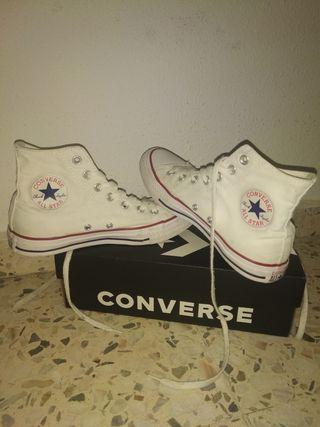 Zapatillas converse all star blancas originales