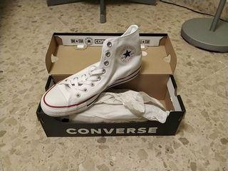 zapatillas converse blancas 40
