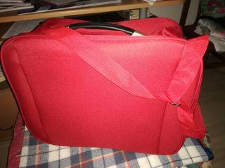 Bolso-maleta rojo