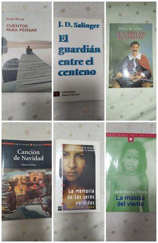 Libros (varios títulos)