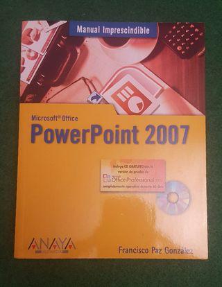 Libro PowerPoint con CD NUEVO