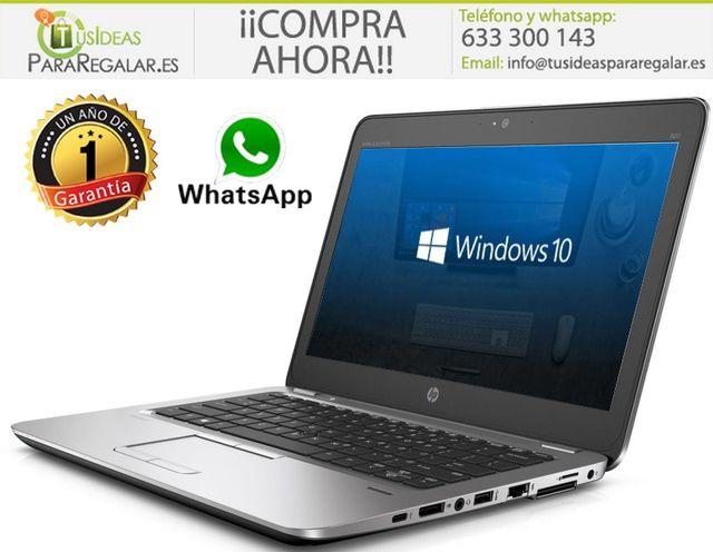 Portátil Hp 820G3, i5 / 8Gb / 240Gb SSD / ultraboo