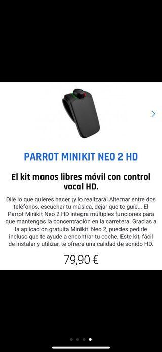 Manos libres Parrot Minikit neo 2 HD