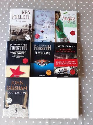 7 Libros bolsillo BARATOS