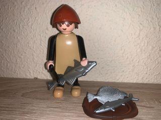 Playmobil aldeano pescadero