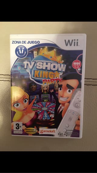 Juego wii tv show