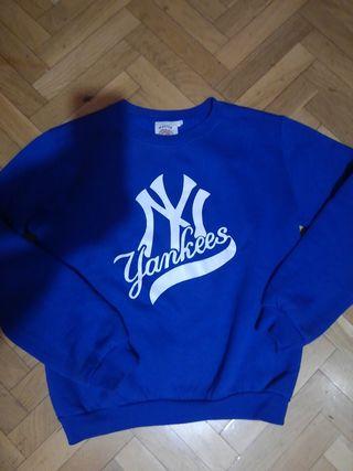 """Sudadera Azul Chico/chica """"New York Yankees"""". XXS"""