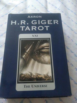 Libro de TAROT De H R GIGER