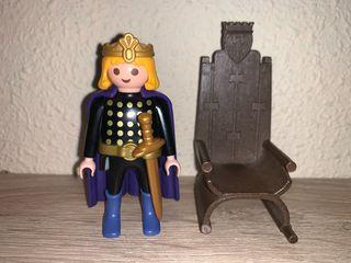 Playmobil principe con trono