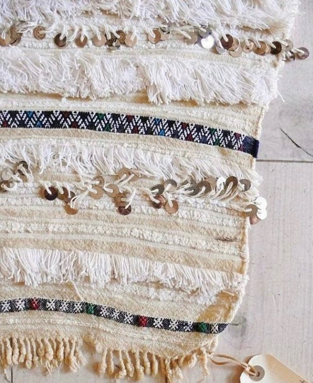 Handira , alfombra , tapiz decoración