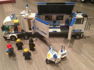 Lego camion policia